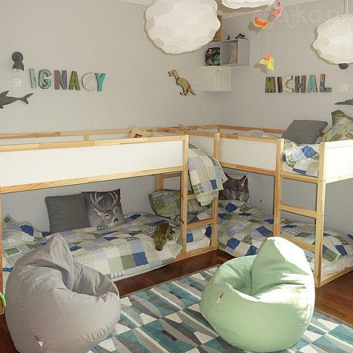 Projekty - Dziecięca sypialnia